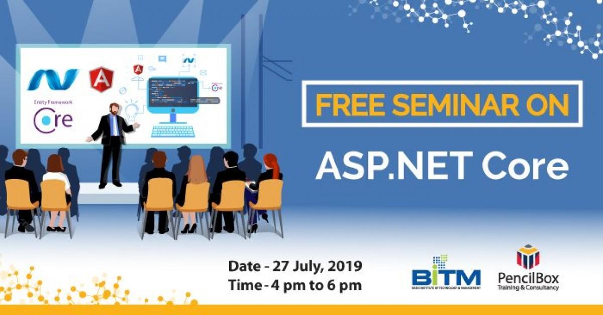 "Free Seminar on ""Asp.net Core"""